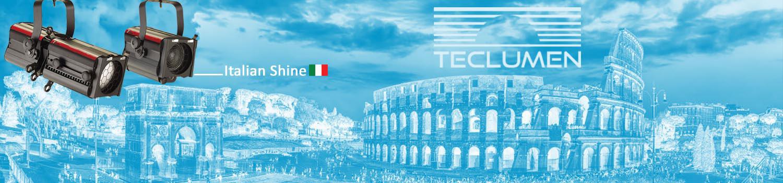تجهیزات نورپردازی و نورتخصصی تکلومن ایتالیا