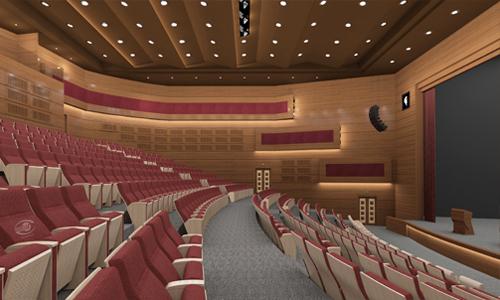 آکوستیک سالن آمفی تئاتر