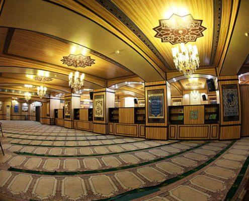 تجهیز نمازخانه کاخ دادگستری قوه قضاییه