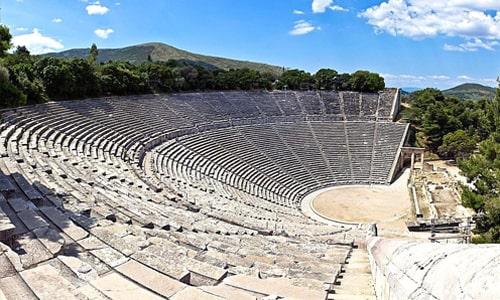 سالن های آمفی تئاتر در دوران باستان