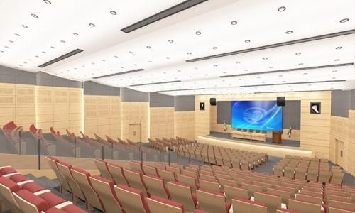 طراحی سالن آمفی تئاتر در آلترناتیوهای گوناگون و متفاوت