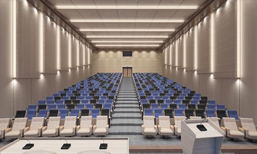آلترناتیو طراحی سالن آمفی تئاتر چند منظوره