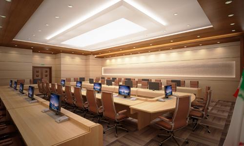 تنوع در طراحی سالن های جلسات