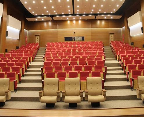 تجهیز سالن همایش ساختمان فردوسی بانک ملی ایران