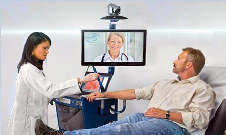 سیستم ویدئو کنفرانس در پزشکی